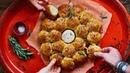 DOUGH BALLS WITH CHEESE DIP Vegan Christmas Party Food