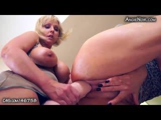 Angie noir, naughty alysha - huge strapon, big tits, anal, cowgirl, gape, tattoo, lesbian, glasses, fisting, milf, roleplay