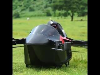 Высокие технологии (https://vk.com/texnomir7) - профессиональный drone builder создает сумасшедший полноразмерный дрон! ➡️