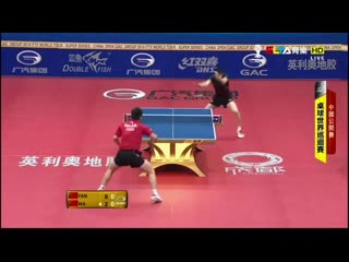 Ma Long VS Fan Zhendong - The Superheroes Amongst Men