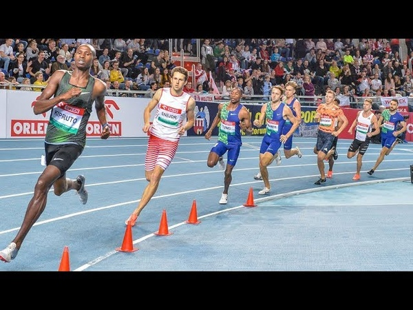 Men's 800m Race at Orlen Copernicus Cup Torun 2020