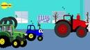 Красный трактор хвастунишка и задавака.