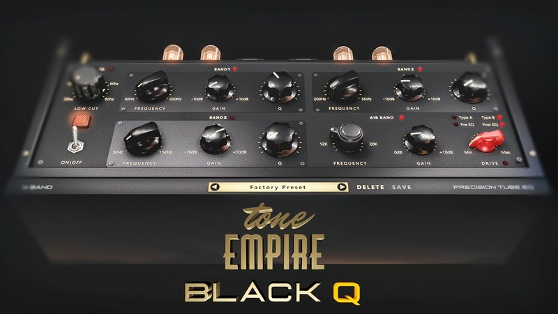 Black Q - Smooth Tubes Equalizer - [NEW PLUGIN]