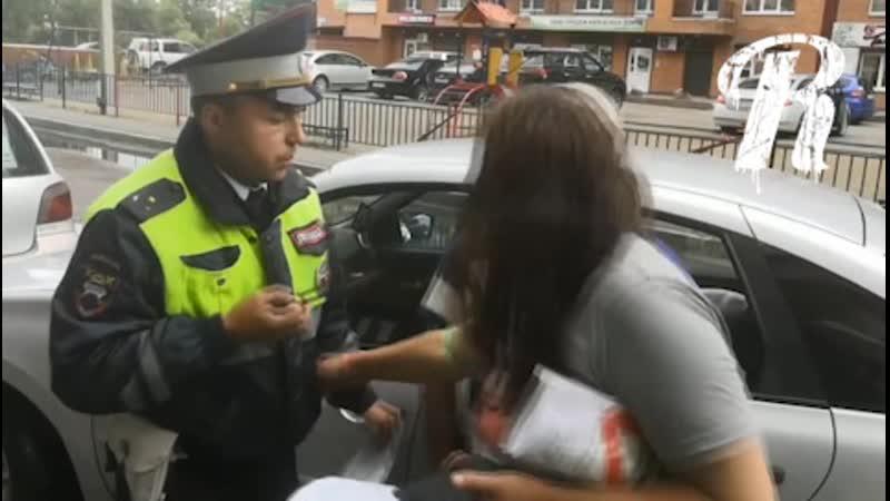 Заступница разруливает траблы с инспекторами