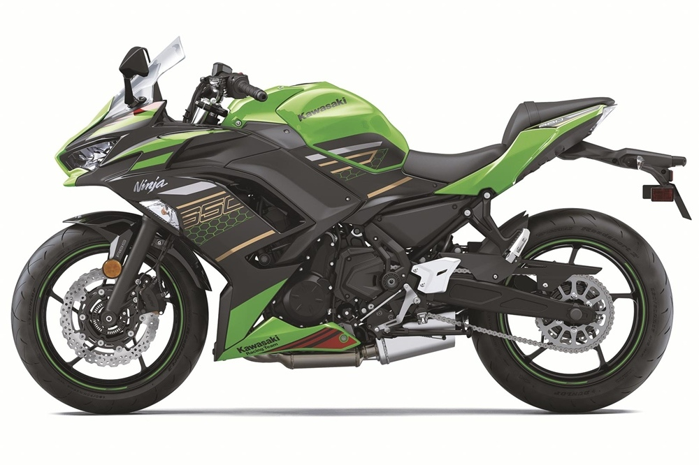 Мотоцикл Kawasaki Ninja 650 2020 немного обновили