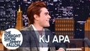KJ Apa Is Obsessed with Vince Vaughn Romantic Comedies