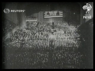 Opening of Republican Convention in US (1924)
