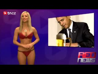 Naked news red news chez