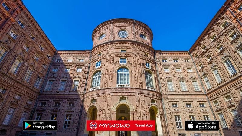 Palazzo Carignano Esterno Torino Audioguida MyWoWo Travel App