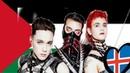 Islandia es la única que se atreve a mostrar su apoyo a Palestina en Eurovisión