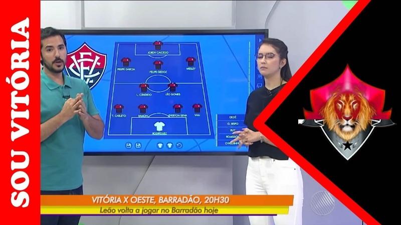 Notícias do Vitória: Vitória x Oeste: confira o provável time do Leão para esta partida
