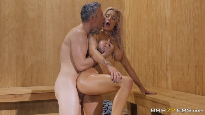 Getting Hot In The Sauna: Luna Skye Mick Blue by Brazzers 5. 04 Full HD 1080p, Porno, Sex, Gagging, Секс,