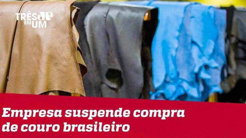 Dona da Vans, Kipling e Timberland suspende compra de couro brasileiro