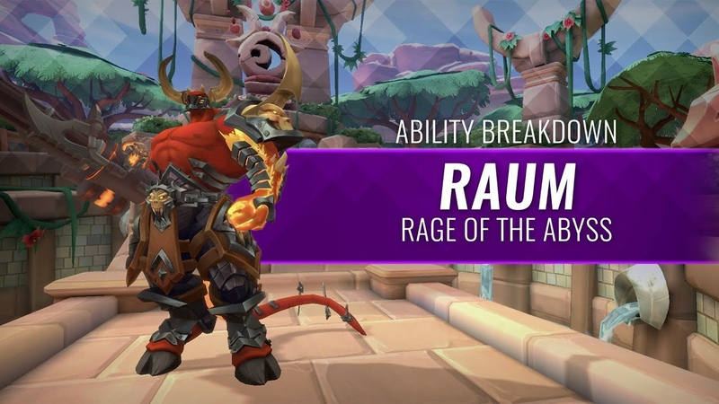 Paladins Ability Breakdown Raum Rage of the Abyss