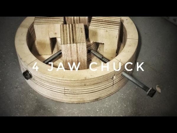 ZepLabs 4 Jaw Lathe Chuck (DIY)