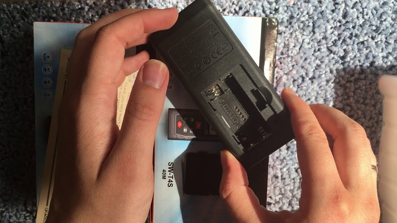 Лазерная рулетка SNDWAY SW T4S