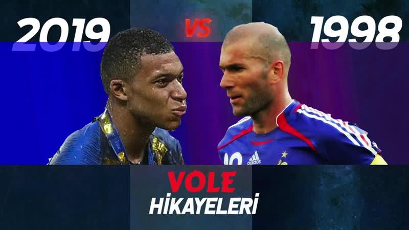 1998 Fransa vs 2019 Fransa A Milli Takımımızın Rakibinin tarihi başarıları VOLE