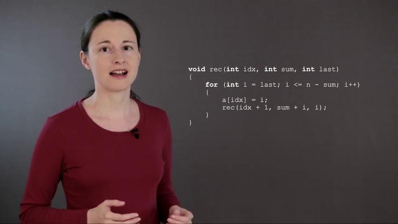 06 Спортивное программирование Разбиение числа на слагаемые