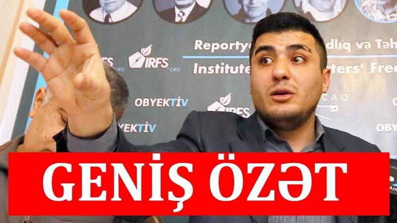 Mehman Hüseynov - İlham Əliyevin qərarı, ölkədəki problemlər haqda (Videonu bəyən)