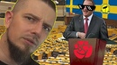 En Arg Blatte Talar om KAOZ i riksdan Walla