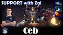 Ceb - Lion Offlane | SUPPORT with zai (Monkey King) | Dota 2 Pro MMR Gameplay