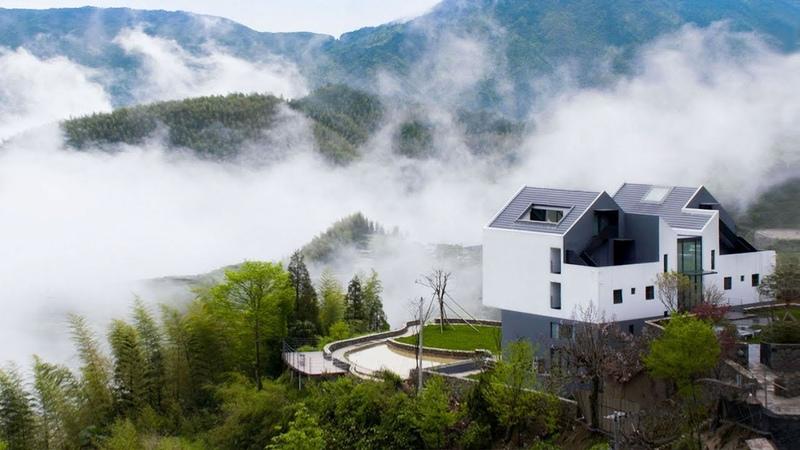 他在中國最美梯田為母親造1000㎡大宅
