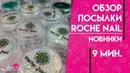 Обзор посылки Roche Nail Новинки Ирина Набок Grand Nail