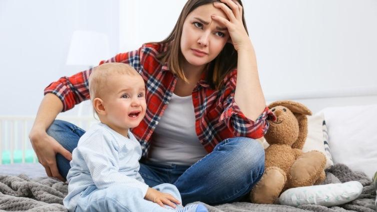 стресс у мамы после родов