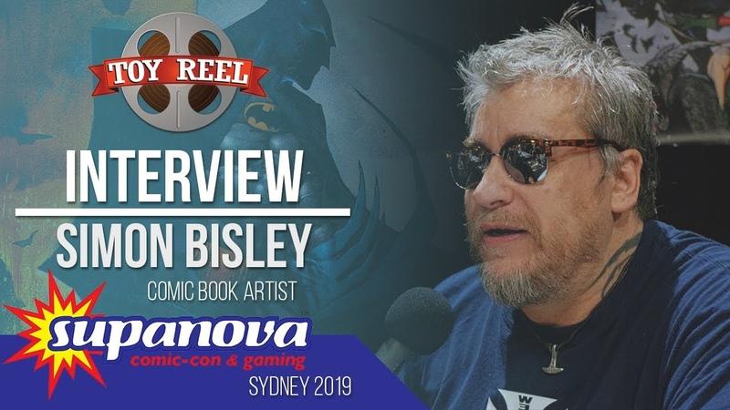 Supanova Sydney 2019   Interview with Simon Bisley