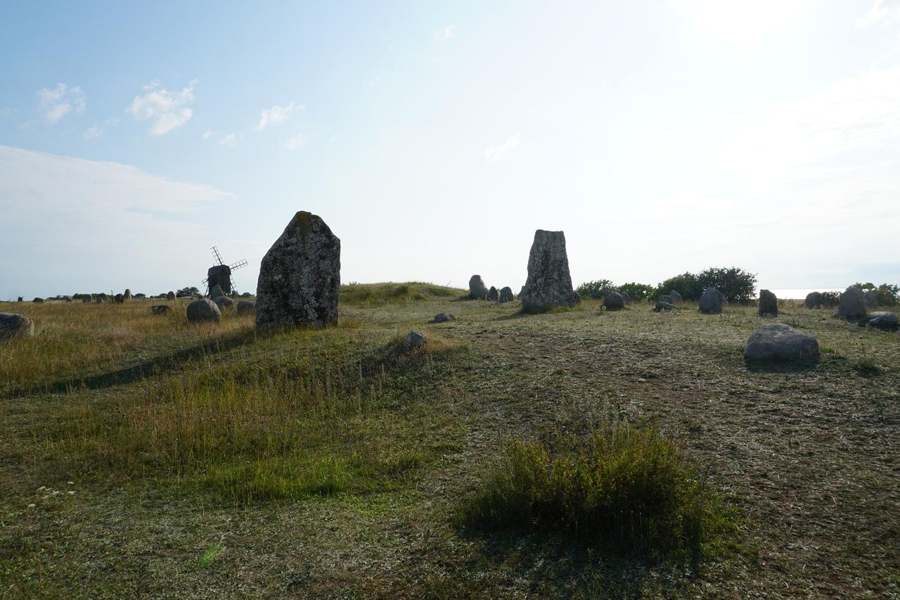 Могилы древних викингов в Геттлинге