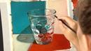 Как рисовать реалистично стекло Тестируем масляные краски от Jacksons art