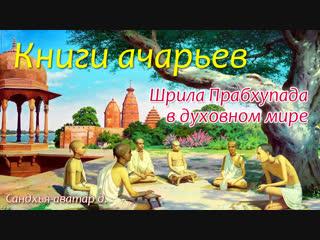 Книги Ачарьев, Шрила Прабхупада в духовном мире. Сандхья-аватар д.