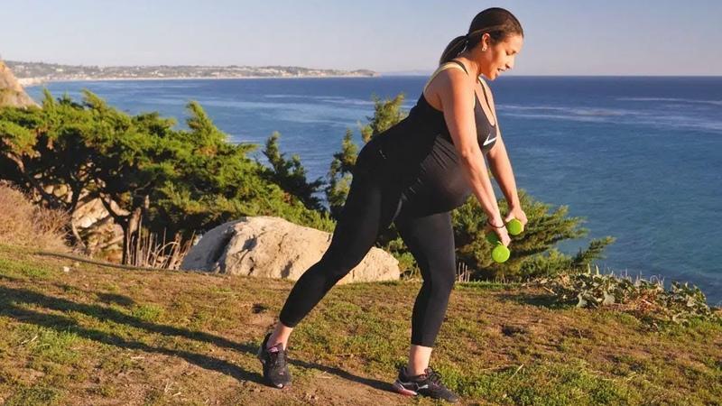 Kamilah Barret Prenatal Workout for Third Trimester Тренировка для беременных третий триместр