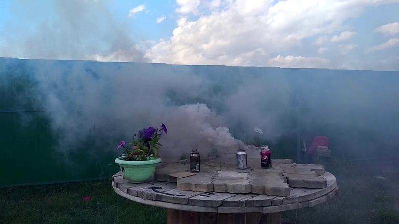 Дымовуха Куча дыма Опыты для детей в домашних условиях Эксперименты для детей