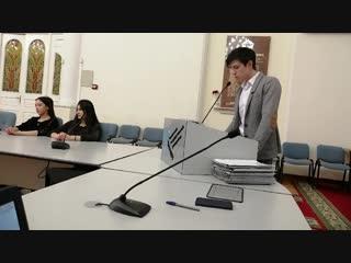 Заседание Таджикских студентов в Тюмени