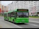Автобус Минска МАЗ-105,гос.№ АК 4359-7, марш.144с (28.06.2018)