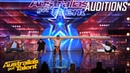 AMAZING Mongolian Strong Man Takes Judges for a Ride | Auditions | Australias Got Talent