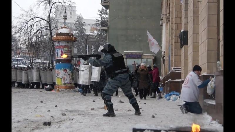 Публикуется впервые: 22.01.2014 Киев. Майдан и Грушевского • Kiev: Maidan, Grushevskogo