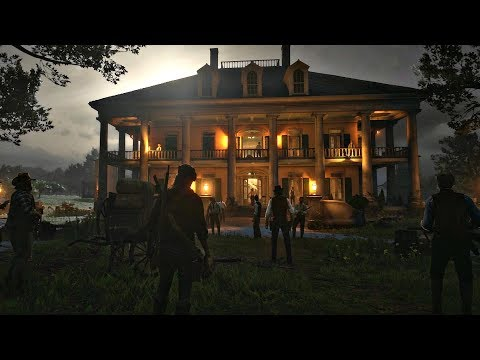 Red Dead Redemption 2 Whole Clan Battle To Save Jack Marston John Marston's Son RDR2 PS4 Pro