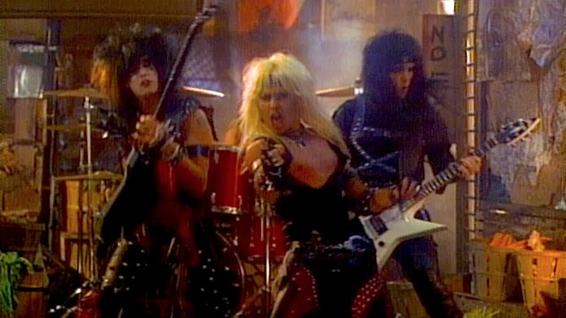 Mötley Crüe Too Young To Fall In Love Official Music Video