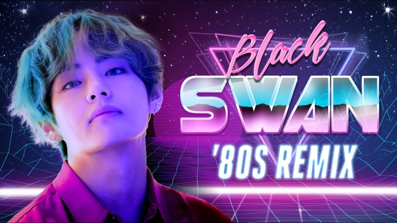 'black swan' by bts except it's 1980s synthpop mashup
