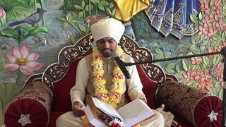 Матхура Бихари  Шримад Бхагаватам  день седьмой часть 1   от 14 07 19