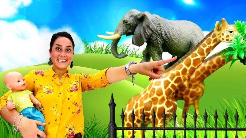 Video e giochi con bambole Nenuco va allo zoo Giocattoli educativi