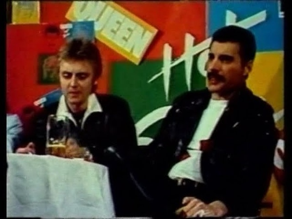 Queen - Hot Space Tour Press Conference (Europe)