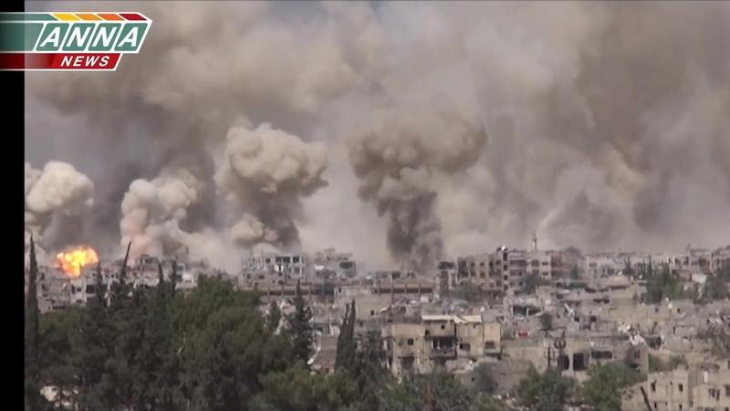 Large operation in Jobar (combined edit)   Крупномасштабная операция в Джобаре (полная версия)