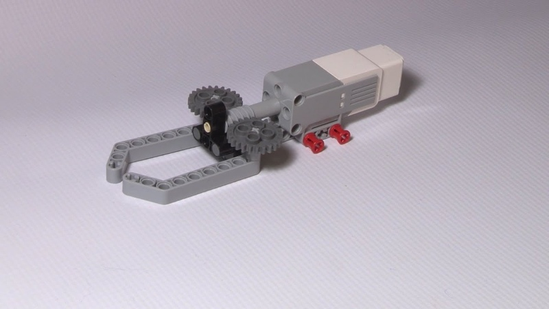 Lego Mindstorms EV3 Simple Gripper Using Medium Servo Motor - Building Instruction