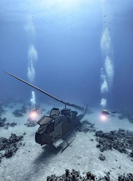 В Иордании был создан первый в мире подводный музей военной техники