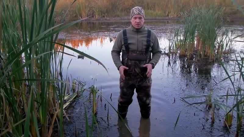 Неопреновые вейдерсы Finntrail созданные специально для охоты