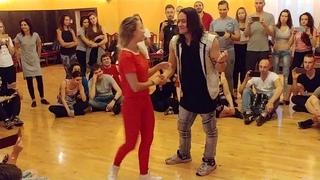 Brazuka 2018 - Mafie Zouker & Anna Vozhevskaya - Zouk Flow Imersion