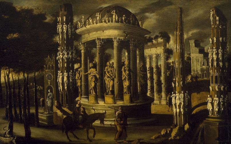 """Франсуа де Номе (1593-1623)"""" Полет(!!) в Египет"""""""